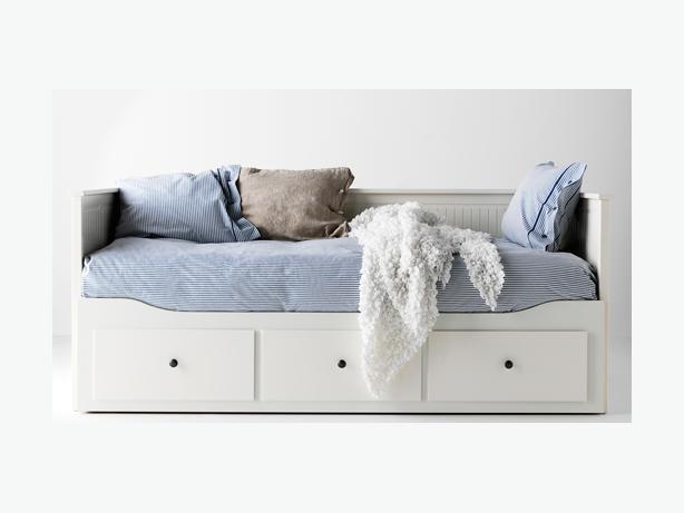 free hemnes daybed frame with 3 drawers white kanata ottawa. Black Bedroom Furniture Sets. Home Design Ideas