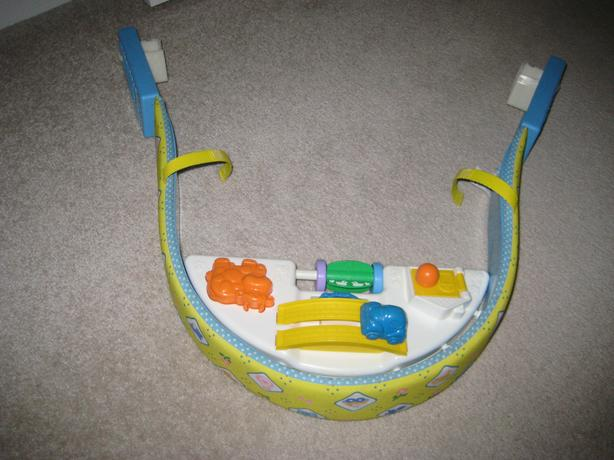 "FISHER PRICE ""ON THE GO"" STROLLER TOY # 1251"