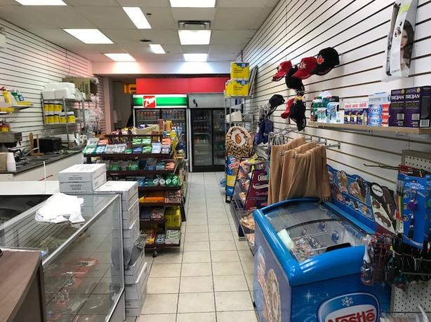 Convenience Store in Downtown Mall