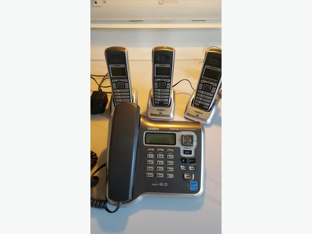 UNIDEN DIGITAL PHONE/ANSWERING SYSTEM
