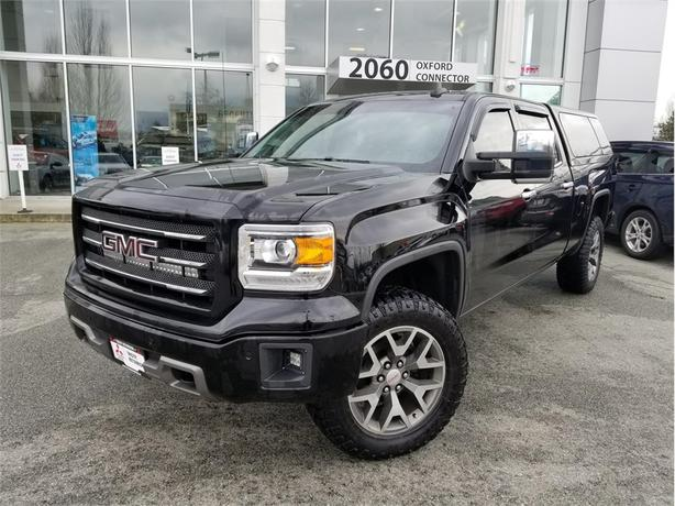 2015 GMC Sierra 1500 SLT CREW CAB, 4X4 NAVIGATION, LEATHER, SUNROOF