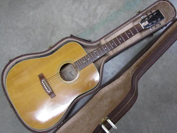 39ffd22fb61 Vintage Japanese Ibanez JAMBOREE modelo No. 627 acoustic guitar with hard  case