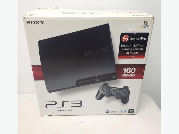 PS3 Slim 160GB Console in Box