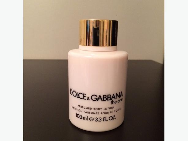 """NEW! Dolce & Gabbana """"The One"""" Perfumed Body Lotion"""