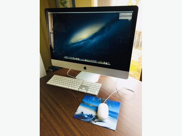 Barely used iMAC 27-inch mid 2011