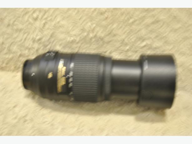 Nikon 55 to 300 lens