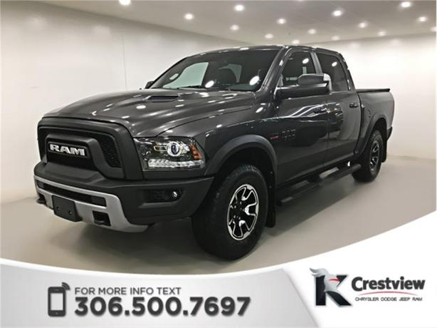 2016 Ram 1500 Rebel Crew Cab | Navigation | Remote Start