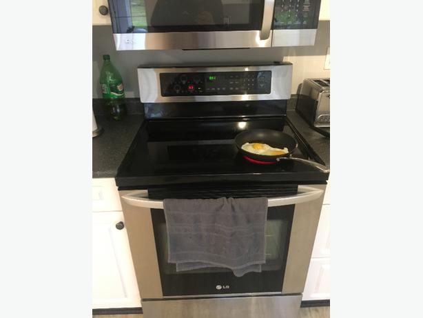 FREE: LG glass top stove