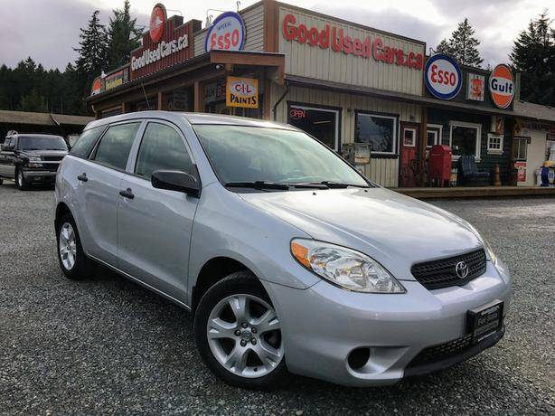 2005 Toyota Matrix - Manual 4 Cylinder with A/C