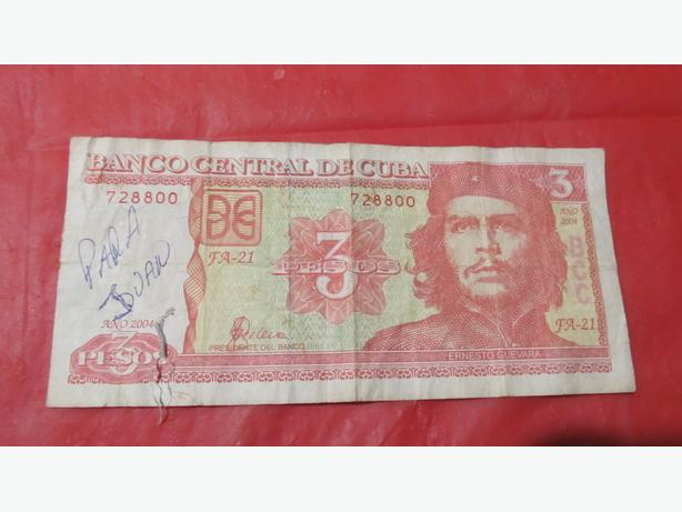 USED CUBAN BILL