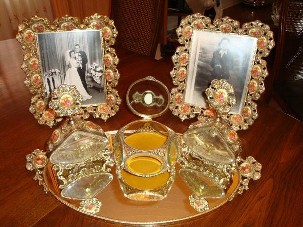 Ormolu-style Dresser Vanity Set (6 pcs)