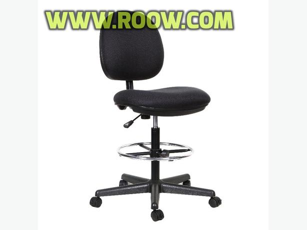 TygerClaw Fabric Back Office Stool Chair, (TYFC3306)