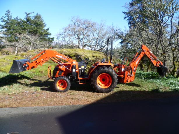 Log In needed $28,500 · Kioti DS 4510 45hp Tractor with loader and  backhoe for sale