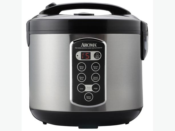 Aroma ARC-2000ASB 20-Cup Digital Multi/Rice Cooker (sells new >$100)