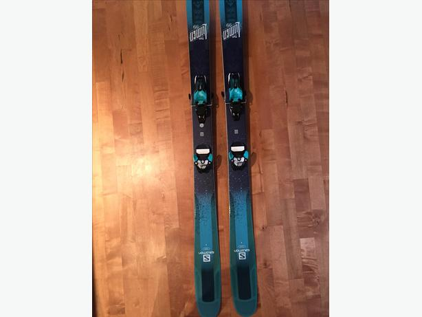 167 cm Salomon skis