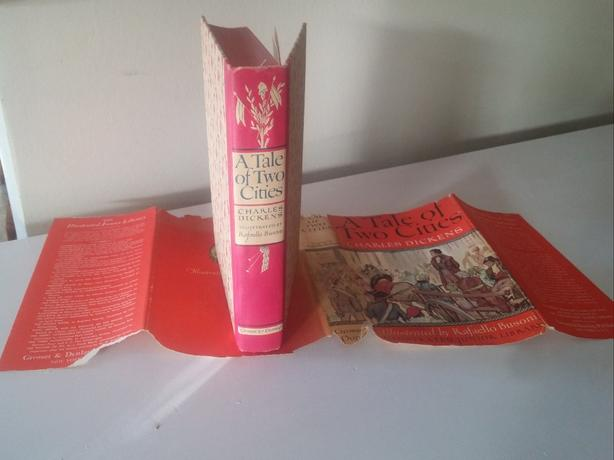 1948 printing- A TALE OF TWO CITIES - Charles Dickens With DJ