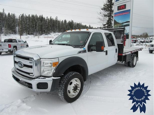 2013 Ford F-550 Super Duty DRW XLT