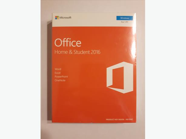 Microsoft Office Home & Student 2016 (PC) - Brand New