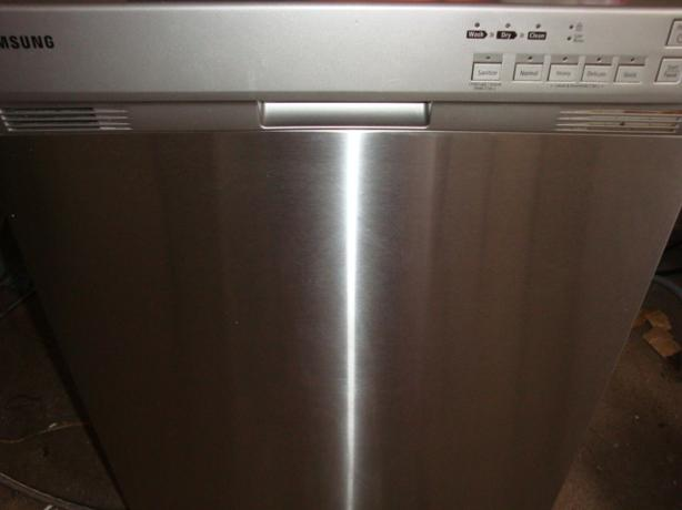 Samsung Energy Star stainless steel dishwasher,