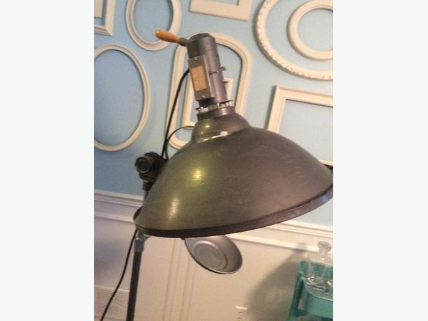 Vintage Industrial Photography Lamp