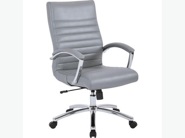 BRAND NEW EXECUTIVE FAUX LEATHER CHAIR