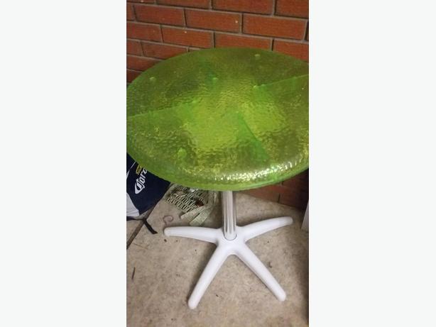 Green light up children's table