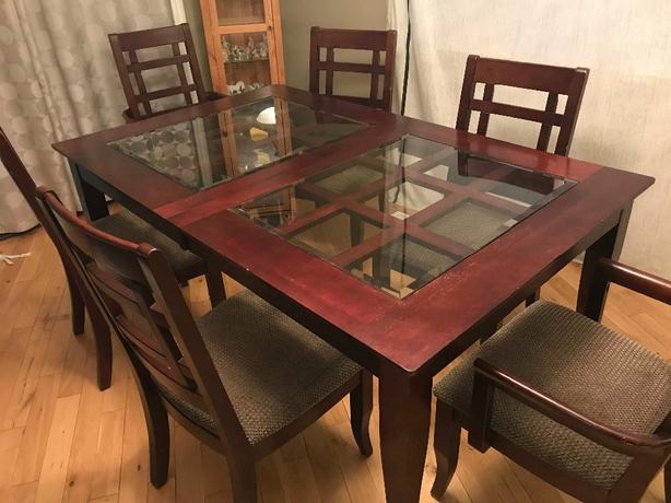 Dinning table must go