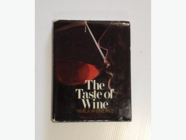 """The Taste of Wine"" by Pamela Vandyke Price – 1975 First Edition Book"