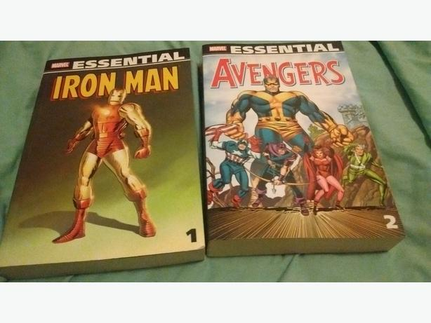 Essential Iron Man #1 & Avengers #2 + Other Books