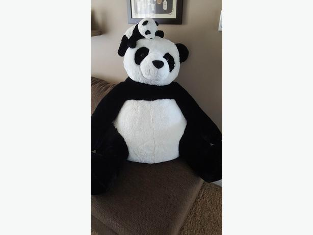 Clean Panda Teddy Bear Stuffed Animal