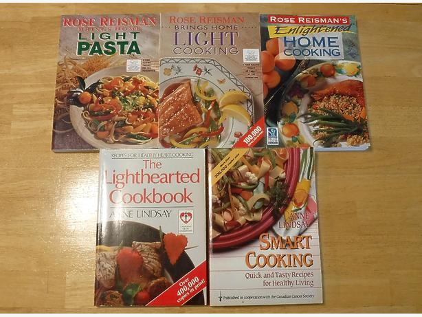 5 Cook Books