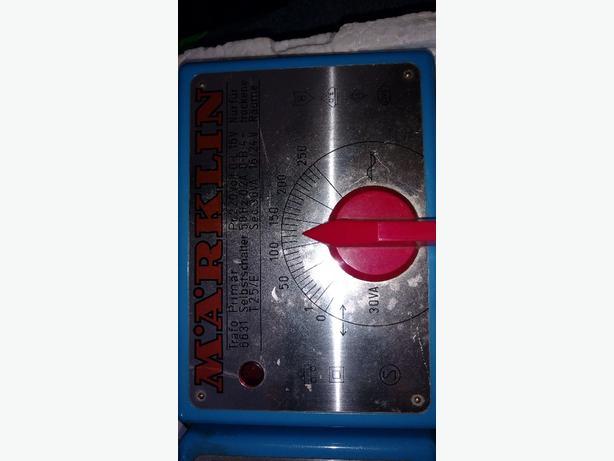 Reduced!! Märklin 6631 Variable Transformer