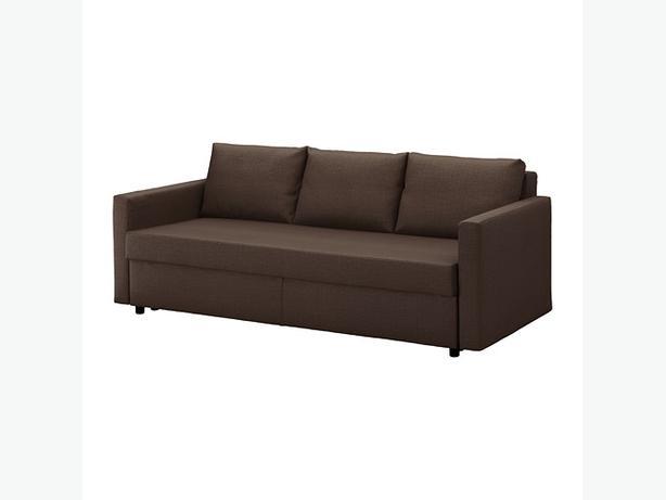 Brand New IKEA FRIHETEN Sofa Bed /Skiftebo Brown