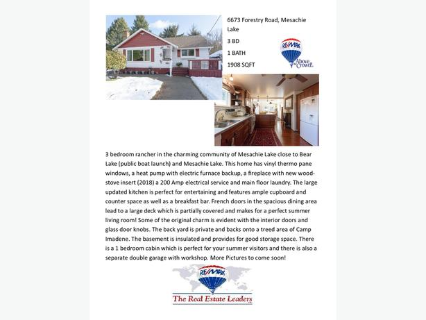 6673 Forestry Road, Mesachie Lake