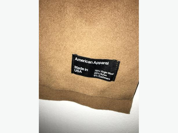 American Apparel scarves - circle and cashmere
