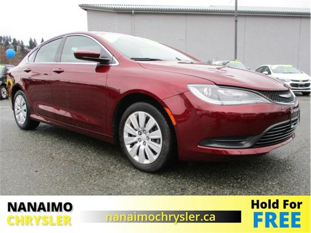 2015 Chrysler 200 LX One Owner No Accidents