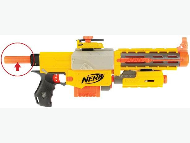 FREE: Nerf Gun Adapter part