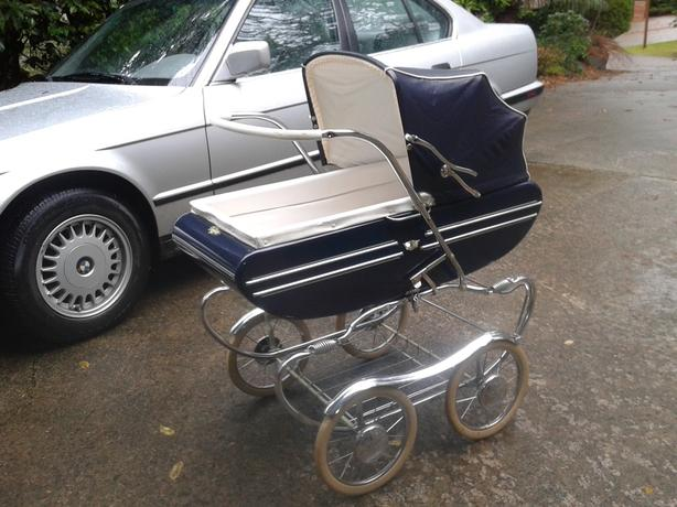Vintage Gendron Pram from 1960's