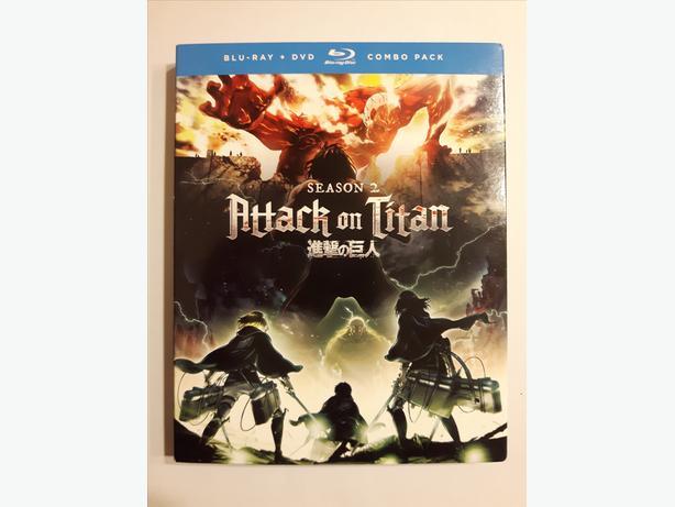 Attack On Titan  - Season 2 (Blu-ray + DVD)