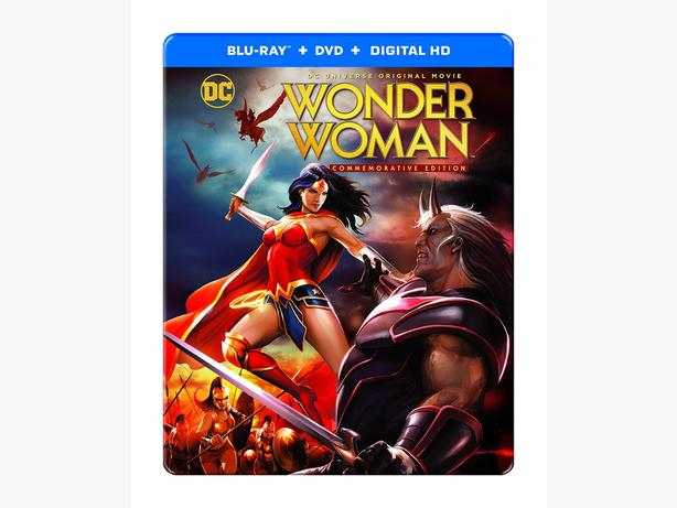 Wonder Woman (Animated) Commemorative Edition BluRay Sealed