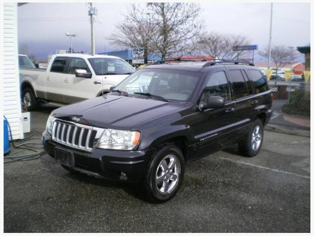 2004 Jeep Grand Cherokee Limited, 2 year power train warranty,
