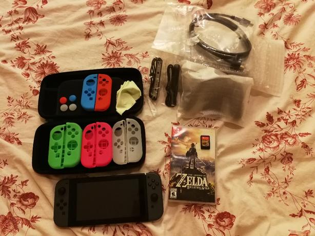 Nintendo Switch + Game + Accessories - MINT condition!
