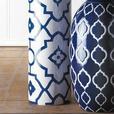 "16"" White & Blue Decorative Ceramic Vase 3 Lot Brand New"