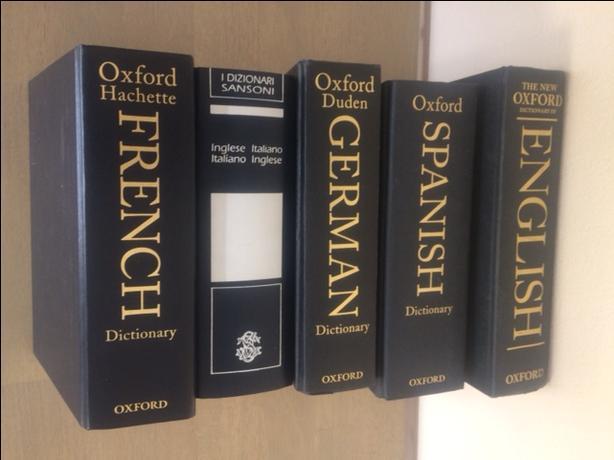German, French, English, Italian, Spanish Dictionaries
