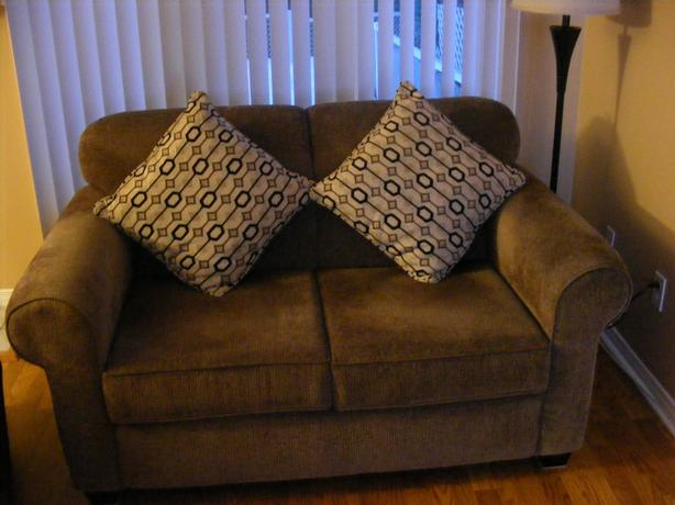 Gray 2 seater couch