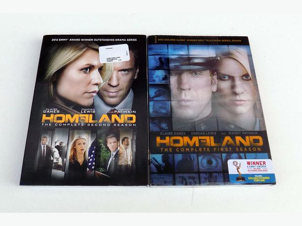 Homeland  The Complete First + Second Season DVD Set -New