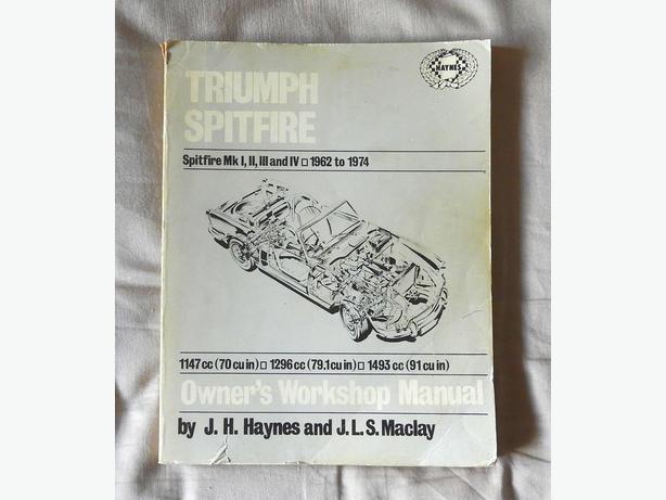 Triumph Spitfire Mk. I thru IV Workshop Manual