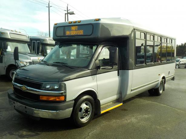 2012 Chevrolet Express G4500 21 Passenger Bus with Wheelchair Accessibility