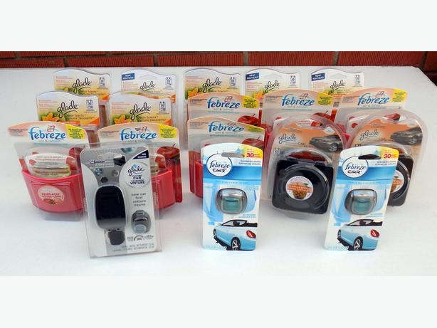 Glade + Febreze  - Lot of 20 Décor Scents / Air Fresheners