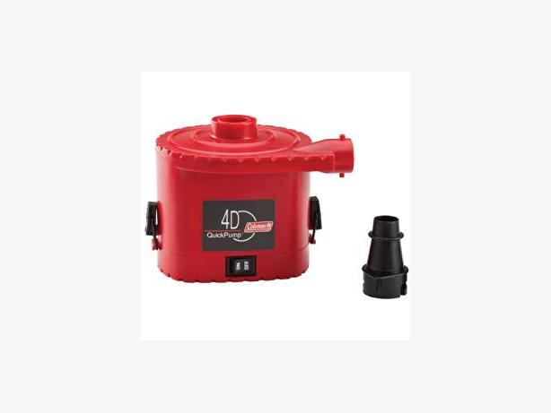 NEW Coleman battery operated air pump
